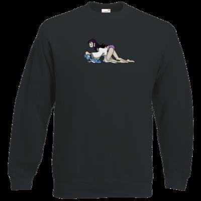Motiv: Sweatshirt Classic - Edna bricht aus - Edna kriecht