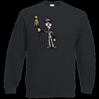 Motiv: Sweatshirt Classic - Edna bricht aus - Droggelbecher