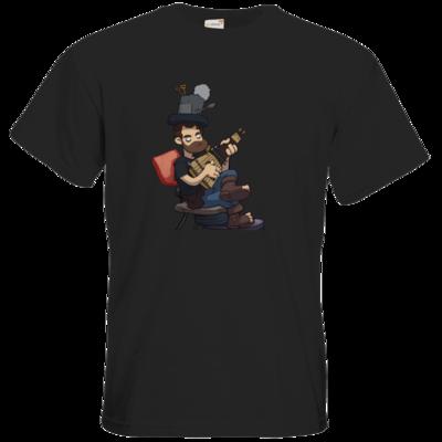 Motiv: T-Shirt Premium FAIR WEAR - Deponia - Poki