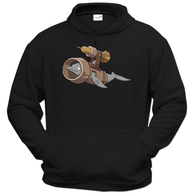 Motiv: Hoodie Classic - Deponia - Torpedodelphin
