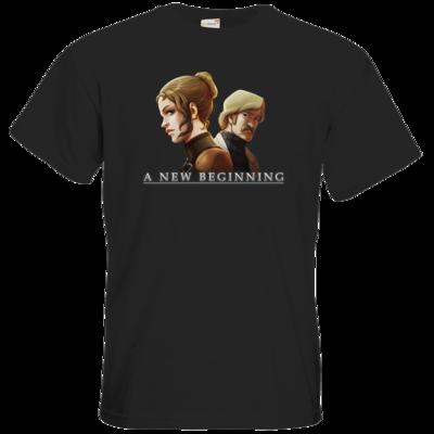 Motiv: T-Shirt Premium FAIR WEAR - A new Beginning - Artwork
