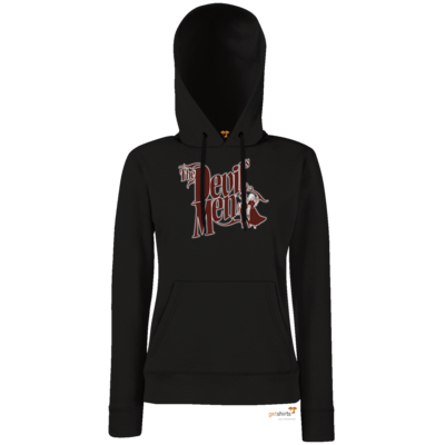 Motiv: Lady Hoodie Classic - The Devils Men - red