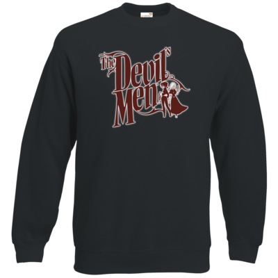 Motiv: Sweatshirt Classic - The Devils Men - red