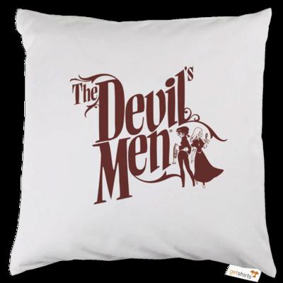 Motiv: Kissen - The Devils Men - red