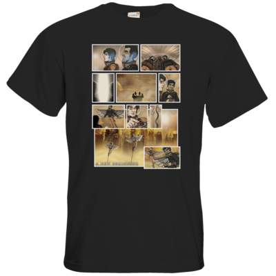 Motiv: T-Shirt Premium FAIR WEAR - A new Beginning - Comic