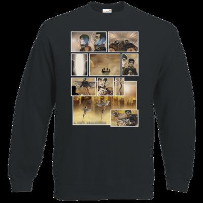 Motiv: Sweatshirt Classic - A new Beginning - Comic