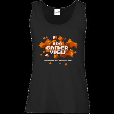 Motiv: Tank Top Damen Classic - Cubes Gamescom