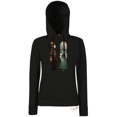 Motiv: Lady Hoodie Classic - The Devils Men - Emily und Adelaide