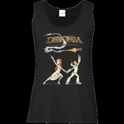 Motiv: Tank Top Damen Classic - Deponia - Disco Pose