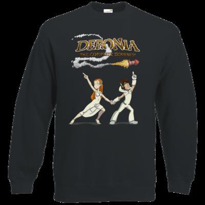 Motiv: Sweatshirt Classic - Deponia - Disco Pose