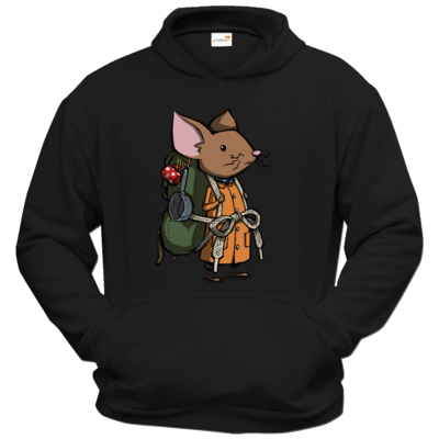 Motiv: Hoodie Classic - The Night of the Rabbit - Backpackmouse