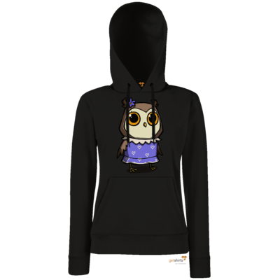 Motiv: Lady Hoodie Classic - The Night of the Rabbit - Ursula