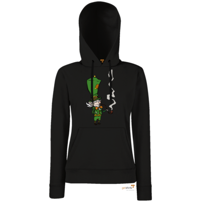 Motiv: Lady Hoodie Classic - The Night of the Rabbit - Leprechaun