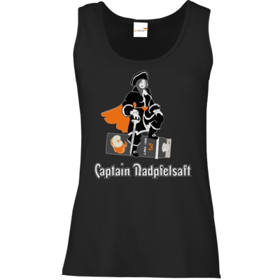 Motiv: Tank Top Damen Classic - Captain Nadpfelsaft