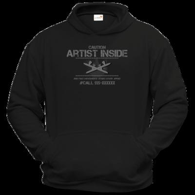 Motiv: Hoodie Classic - artistinside