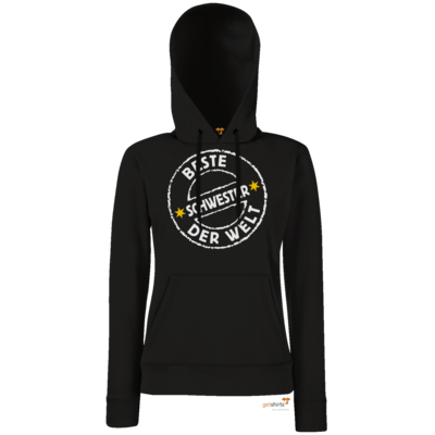 Motiv: Lady Hoodie Classic - Family Beste Schwester (4855)