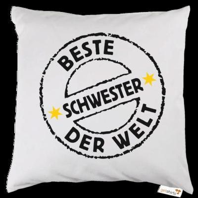 Motiv: Kissen - Family Beste Schwester (4855)