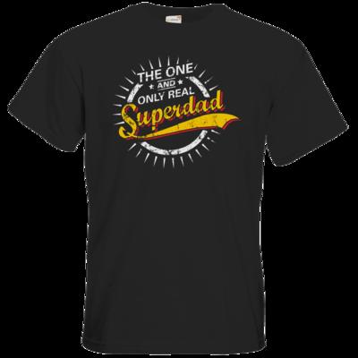 Motiv: T-Shirt Premium FAIR WEAR - Superdad-1747