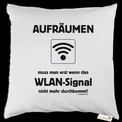 Motiv: Kissen - Teenager WLAN Signal (1624)