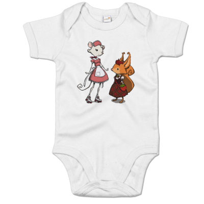 Motiv: Baby Body Organic - The Night of the Rabbit - Anja and Edith