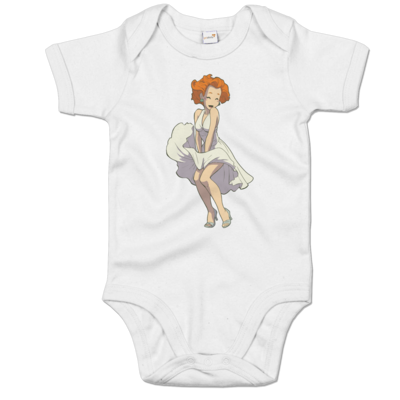 Motiv: Baby Body Organic - Deponia - Marilyn Monroe Goal