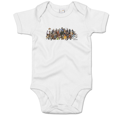 Motiv: Baby Body Organic - Daedalic Allstars - Collage