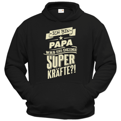 Motiv: Hoodie Classic - Family - Superkraefte Papa