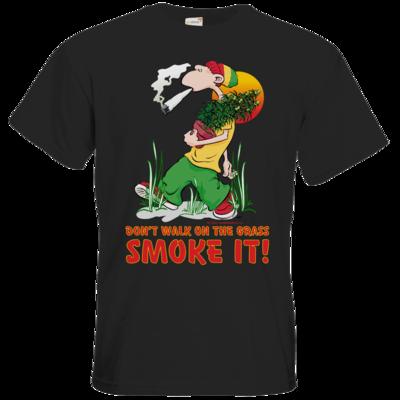 Motiv: T-Shirt Premium FAIR WEAR - Kiffen - Smoke it