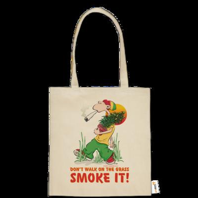 Motiv: Baumwolltasche - Kiffen - Smoke it