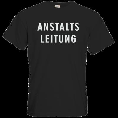 Motiv: T-Shirt Premium FAIR WEAR - Fun - Anstaltsleitung