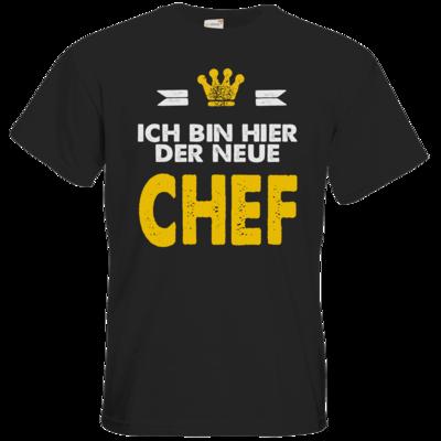 Motiv: T-Shirt Premium FAIR WEAR - Baby - Ich bin der neue Chef