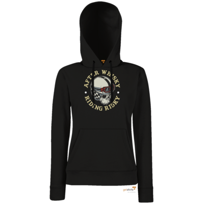 Motiv: Lady Hoodie Classic - Biker - after Whisky
