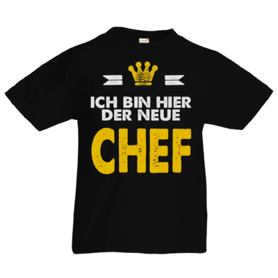 Motiv: Kids T-Shirt Premium FAIR WEAR - Baby - Ich bin der neue Chef