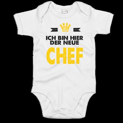 Motiv: Baby Body Organic - Baby - Ich bin der neue Chef