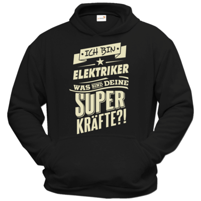 Motiv: Hoodie Classic - Superkraefte Elektriker