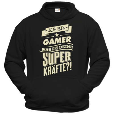Motiv: Hoodie Classic - Superkraefte Gamer