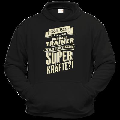 Motiv: Hoodie Classic - Superkraefte Fussball-Trainer