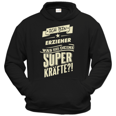 Motiv: Hoodie Classic - Superkraefte Erzieher
