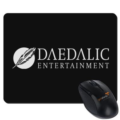 Motiv: Mousepad Textil - Daedalic Logo
