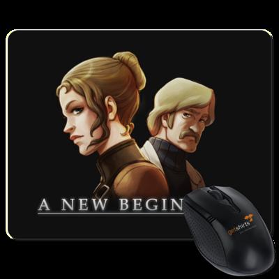 Motiv: Mousepad Textil - A new Beginning - Artwork