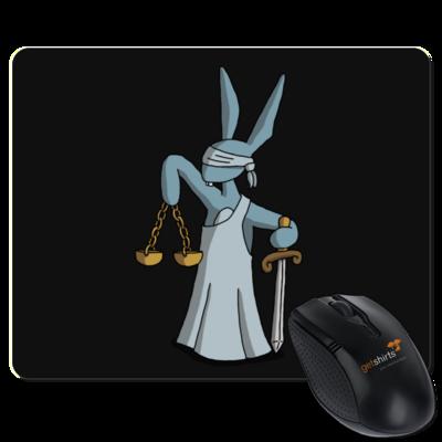 Motiv: Mousepad Textil - Harveys neue Augen - Justitia