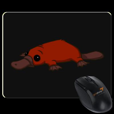 Motiv: Mousepad Textil - Deponia - Feuerschnabeltier