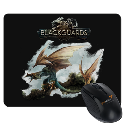 Motiv: Mousepad Textil - Blackguards - Flightdragon