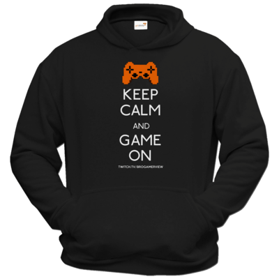 Motiv: Hoodie Classic - Keep Calm Game On