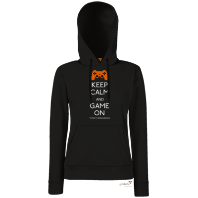 Motiv: Lady Hoodie Classic - Keep Calm Game On
