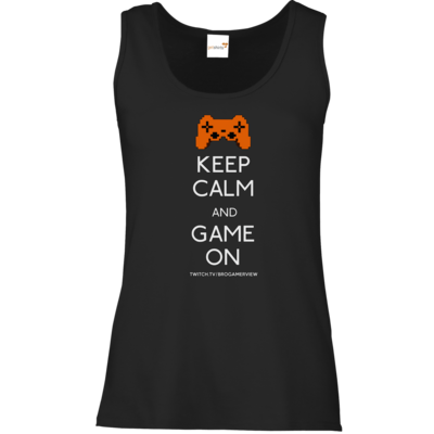 Motiv: Tank Top Damen Classic - Keep Calm Game On