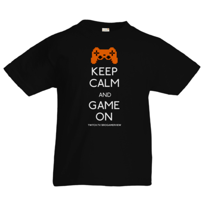 Motiv: Kids T-Shirt Premium FAIR WEAR - Keep Calm Game On