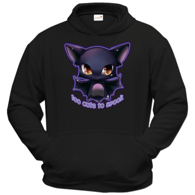 Motiv: Hoodie Classic - Too cute to spook