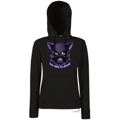 Motiv: Hoodie Damen Classic - Too cute to spook