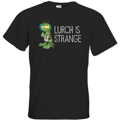 Motiv: T-Shirt Premium FAIR WEAR - Lurch is Strange Chloe